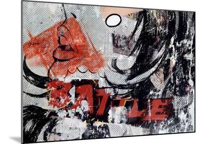 Battle-Dan Monteavaro-Mounted Print