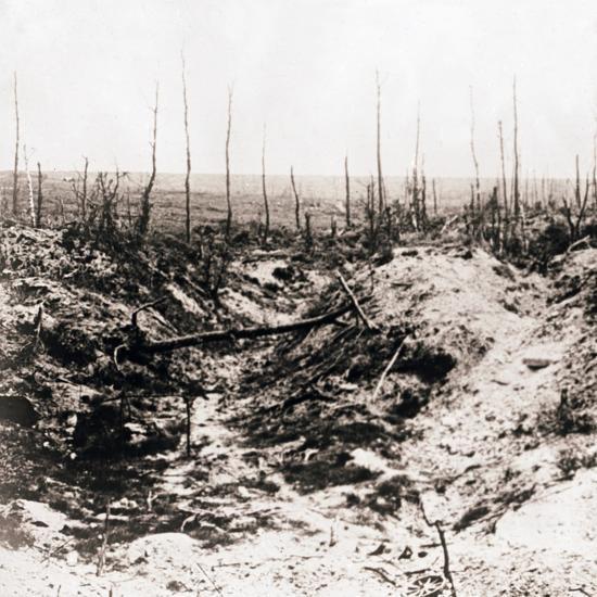 Battlefield, c1914-c1918-Unknown-Photographic Print