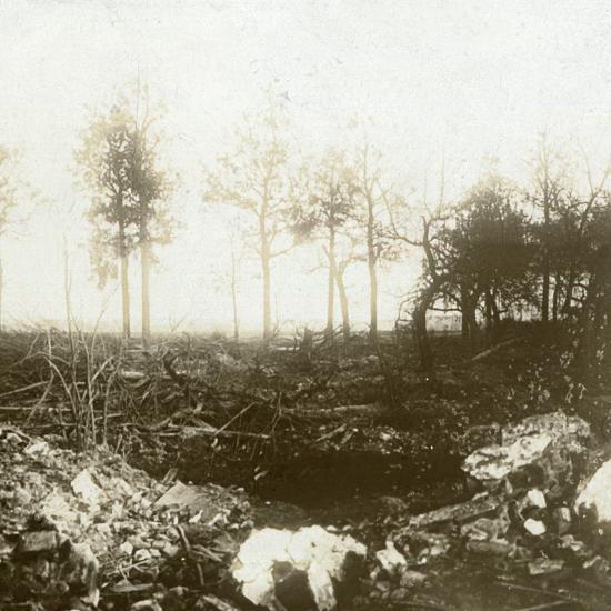 Battlefield, Roeselare, Flanders, Belgium, c1914-c1918-Unknown-Photographic Print