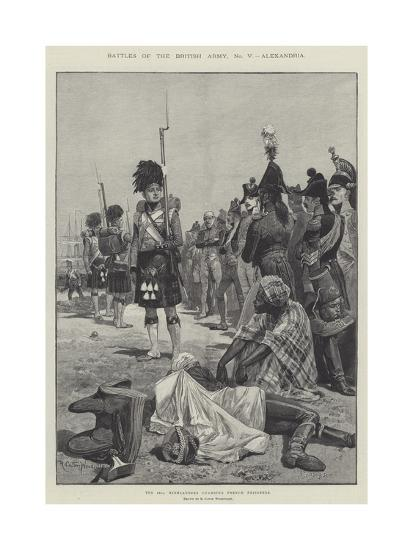 Battles of the British Army, Alexandria-Richard Caton Woodville II-Giclee Print
