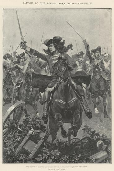 Battles of the British Army, Oudenarde-Richard Caton Woodville II-Giclee Print