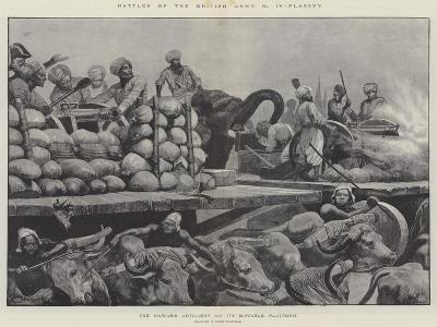 Battles of the British Army, Plassey-Richard Caton Woodville II-Giclee Print