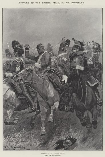 Battles of the British Army, Waterloo-Richard Caton Woodville II-Giclee Print
