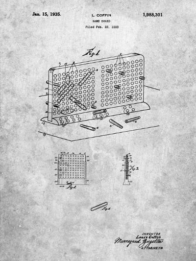 Battleship Game Patent-Cole Borders-Art Print