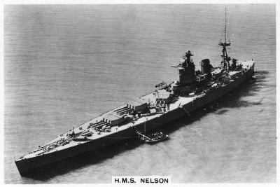 Battleship HMS Nelson, 1937--Giclee Print