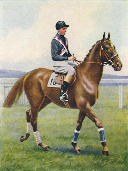 Battleship, Jockey: B. Hobbs', 1939-Unknown-Giclee Print
