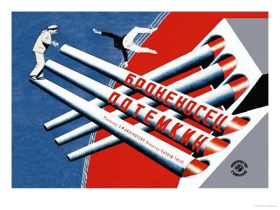 Battleship Potemkin-Stenberg Brothers-Art Print