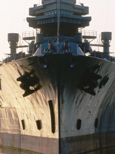 Battleship USS Texas, Houston, Texas-Holger Leue-Photographic Print