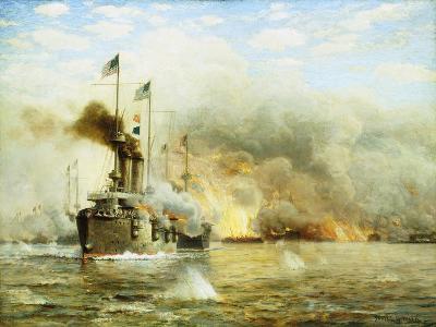Battleships at War-James Gale Tyler-Giclee Print