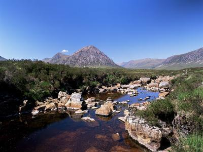 Bauchaille Etive, Glencoe, Highland Region, Scotland, United Kingdom, Euorpe-Kathy Collins-Photographic Print