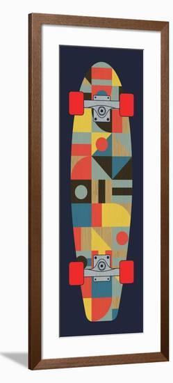 Bauhaus Skateboard--Framed Giclee Print