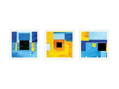Bauhaus Sketches-Carmine Thorner-Art Print