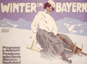 Bavarian Winter Snow Sports
