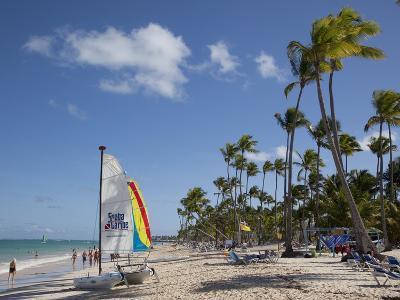 Bavaro Beach, Punta Cana, Dominican Republic, West Indies, Caribbean, Central America-Frank Fell-Photographic Print