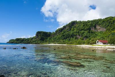 Bay and Turquoise Water in Tau Island, Manu'A, American Samoa, South Pacific-Michael Runkel-Photographic Print