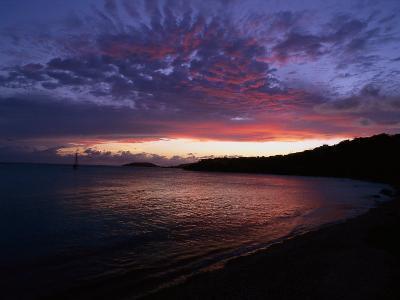 Bay at Sunset, Culebra, Puerto Rico-Dan Gair-Photographic Print