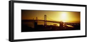 Bay Bridge at Sunset, San Francisco, California, USA