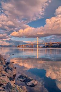 Bay Bridge Cloudscape, Oakland, California