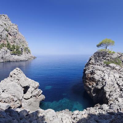 Bay Cala De Sa Calobra, Majorca (Mallorca), Balearic Islands (Islas Baleares)-Markus Lange-Photographic Print