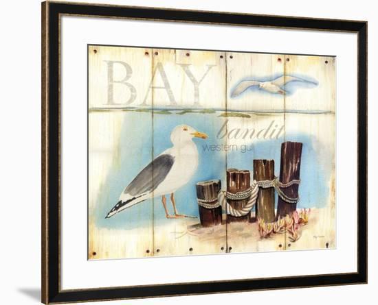 Bay Gull-Mary Escobedo-Framed Art Print