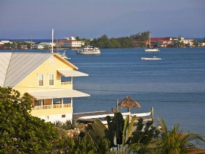 Bay Islands, Utila, View of Bay, Honduras-Jane Sweeney-Photographic Print