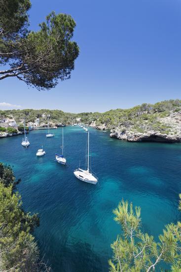 Bay of Cala Figuera, Majorca (Mallorca), Balearic Islands (Islas Baleares)-Markus Lange-Photographic Print