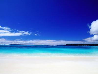 Bay of Chateaubriand, Lifou Island, Loyalty Islands, New Caledonia-Peter Hendrie-Photographic Print