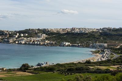 Bay of Il-Mellieha, Malta, Mediterranean, Europe-Michael Runkel-Photographic Print