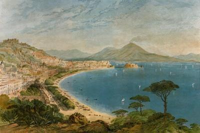 Bay of Naples in the Mid-1800s