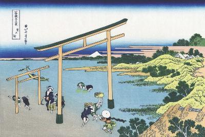 Bay of Noboto-Katsushika Hokusai-Giclee Print