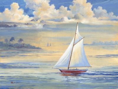 Bay of Palms-Paul Brent-Art Print