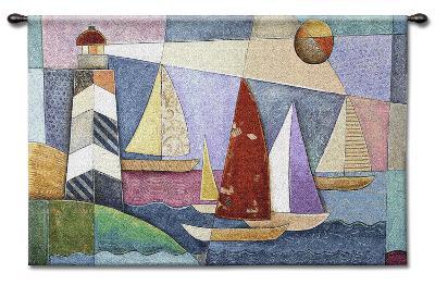 Bay Regatta-Bonadventura-Wall Tapestry
