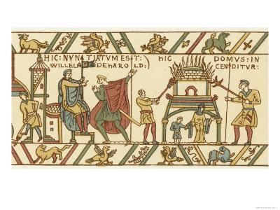 Bayeux Tapestry: Norman Conquest--Giclee Print