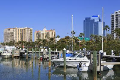 Bayfront Marina, Sarasota, Florida, United States of America, North America-Richard Cummins-Photographic Print