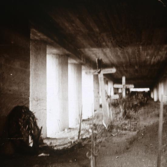 Bayonet Trench, Verdun, northern France, c1916-c1918-Unknown-Photographic Print