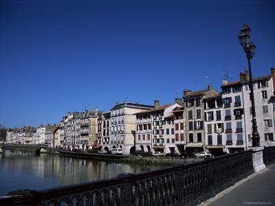 Bayonne on the River Adour, Pays Basque, Aquitaine, France-Nelly Boyd-Photographic Print