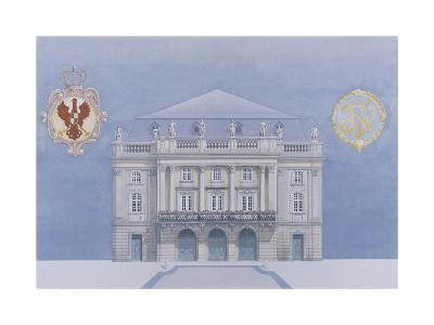 Bayreuth-Andras Kaldor-Premium Giclee Print