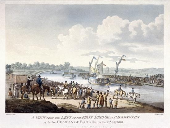 Bayswater, Paddington, London, 1801-J Jeakes-Giclee Print