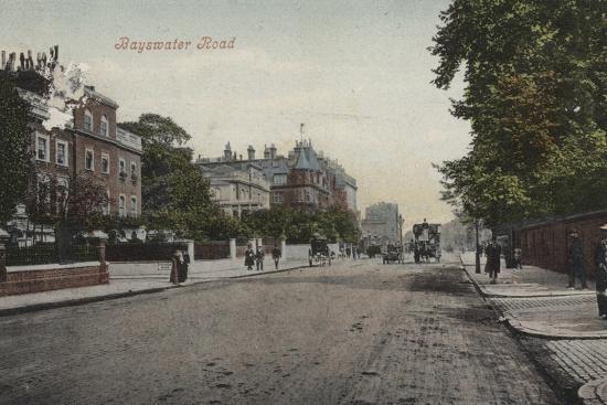 Bayswater Road--Photographic Print