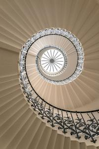 Tulip Stairs - Upside View of a Spiral Staircase by BBA Travel