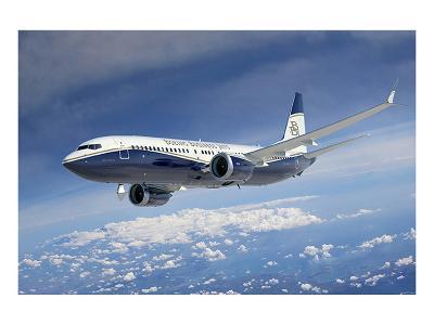 BBJ MAX 8 based on the 737 MAX 8--Premium Giclee Print