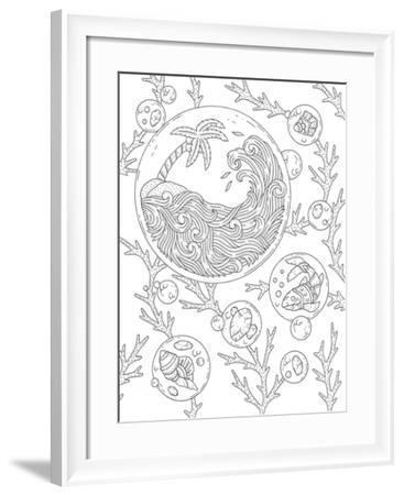 BC Bubbles-Filippo Cardu-Framed Giclee Print