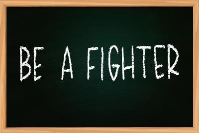Be a Fighter-airdone-Photographic Print