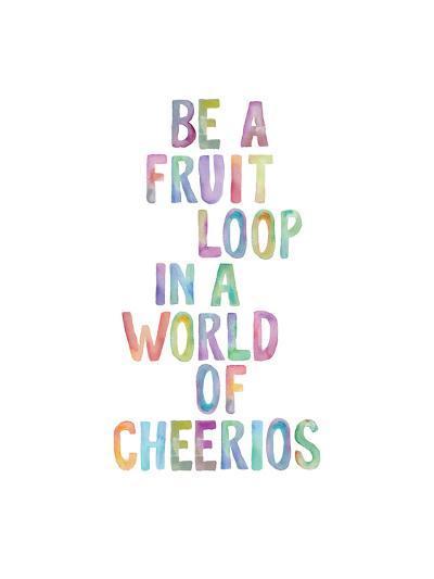 Be A Fruit Loop-Brett Wilson-Art Print