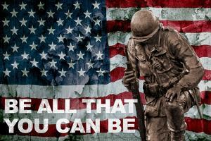 Be All You Can Be Soldier Poster