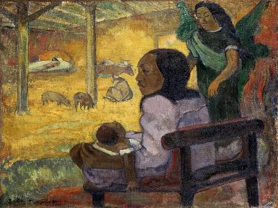 Be Be (Christma), 1896-Paul Gauguin-Giclee Print