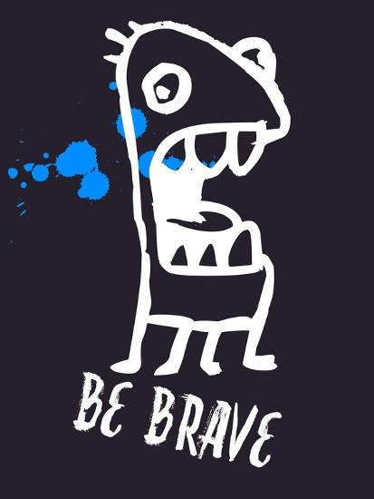 Be Brave 2-Lina Lu-Art Print