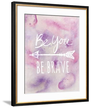Be Brave-Lottie Fontaine-Framed Giclee Print