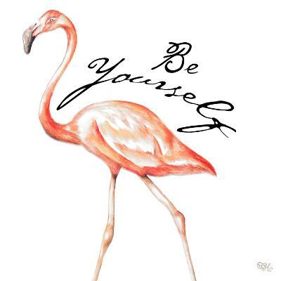 Be Different Flamingo II-Tiffany Hakimipour-Art Print