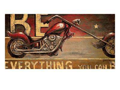 Be Everything-Janet Kruskamp-Premium Giclee Print